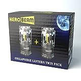 2 x Zusammenklappbare LED Camping Laterne – 5 JAHRE GARANTIE - 4
