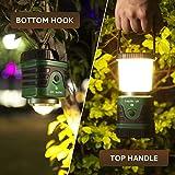 Spritzwassergeschützte LED Camping Laterne mit 3 Helligkeitsstufen – 40 Stunden Laufzeit - 7