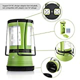 LED Camping Laterne mit 2 abnehmbaren Mini Taschenlampen 600lm - 3