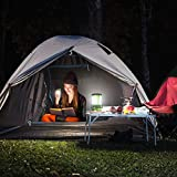 LED Camping Laterne mit 2 abnehmbaren Mini Taschenlampen 600lm - 7