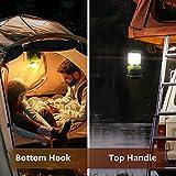 LED Camping Laterne – Notfalllaterne dimmbar mit 3 Helligkeitsstufen und Akkuzustandsanzeige - 2