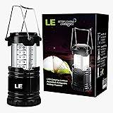 Camping Laterne zusammenklappbar mit 30 LEDs - 14 h Dauerbeleuchtung