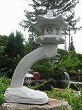 Japanische Rankei Steinlaterne K – asiatische Gartenlaterne – 6 teilig winterfest - 3
