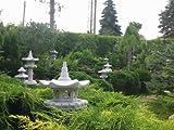 """Japanische Gartenlatern – Steinlaterne """"Vogelhaus"""" auch als Futterstelle geeignet - 7"""