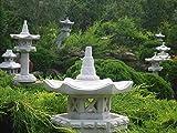 """Japanische Gartenlatern – Steinlaterne """"Vogelhaus"""" auch als Futterstelle geeignet - 6"""