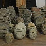"""Steinlaterne aus Flussstein Größe """"XL"""" 50-60 cm Handarbeit von Bali - Wuona Objects"""