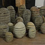"""Steinlaterne aus Flussstein Größe """"M"""" 30-40 cm Handarbeit von Bali - Wuona Objects"""