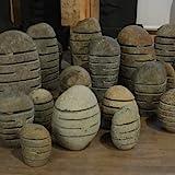 """Steinlaterne aus Flussstein Größe """"L"""" 40-50 cm Handarbeit von Bali - Wuona Objects"""