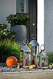 home – Laterne aus Edelstahl M – in verschiedenen Größen: Klein – XL - 3