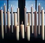 250/30 mm 24 Stück Altarkerzen mit Dornbohrung in 100% Ceresinwachs nach RAL Kerzen Qualität (Kirchenqualität), Original Kopschitz Kerzen Made in Germany