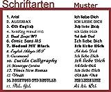 Laterne mit Fotogravur + Text – Schwarz & Weiß aus Metall - 3