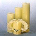 Candela Lotuskerze Trend Elfenbein 28 cm