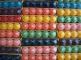 Timtina 120 Votivkerzen ca 8-10 Düfte durchgefärbt viele Farben (120, ganzjahresdüfte Fruity)
