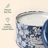 Duftkerze Geschenk Groß 400g 3 Dochte, Baumwolle Duft Aromatherapie Natürliches Sojawachs Kerze - 3