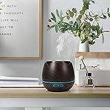 Aroma Öl Diffuser, Y.F.M Holzmaserung Aromatherapie-Maschine Vernebler Duftlampe 400ml für Wohnzimmer, Schlafzimmer, Büro, Yoga, Spa und usw. - 2
