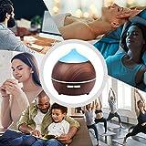 Aroma Diffuser, Avaspot 250ml Luftbefeuchter Holzmaserung Aromatherapie Diffuser Ultraschall Niedrig Wasser Automatische Abschaltung LED mit 7 Farben für Yoga Salon Spa Wohn-, Schlaf-, Zuhause - 6