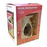 Offizielles Produkt von Yankee Candle: Home-Inspiration-Duftlampe mit Starter-Pack; Geschenk-Set inkl. Wachs-Würfel und geruchloses Teelicht