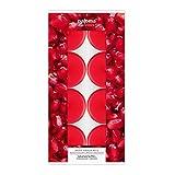 Pajoma 91025 8-er Set Duftteelichter Granatapfel