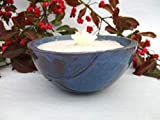 Kerzenfresser Keramik, Kerzenrestefresser, Outdoor, zum Schmelzen von Wachsresten, Tischfackel, Kerzen Recycling, Gartenfackel, mit windfestem Dauerdocht, reine Handarbeit - 2