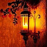 """Metall Wandlaterne """"Al Hamra"""" im Rost-Used-Look - 2"""
