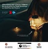 Solar Laterne – SONNENGLAS® das Original –mit USB Anschluss & 4 LED's - 6