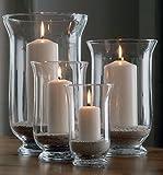 Benelando® Windlichter aus Glas im 4er Set