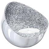 Swarovski Minera Teelichthalter, Silber Ton