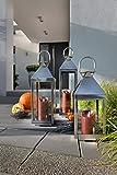 home + Edelstahl Laterne – Höhe 70 cm – in verschiedenen Größen - 2