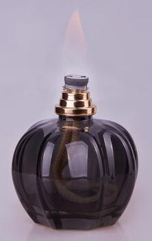 Katalytische-Lampe aus Glas mit Duft