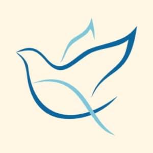 Kirchliches Tauf-Symbol - Die Taube