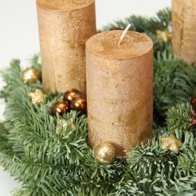Kerzenhalter für Adventskränze mit und ohne Dorn
